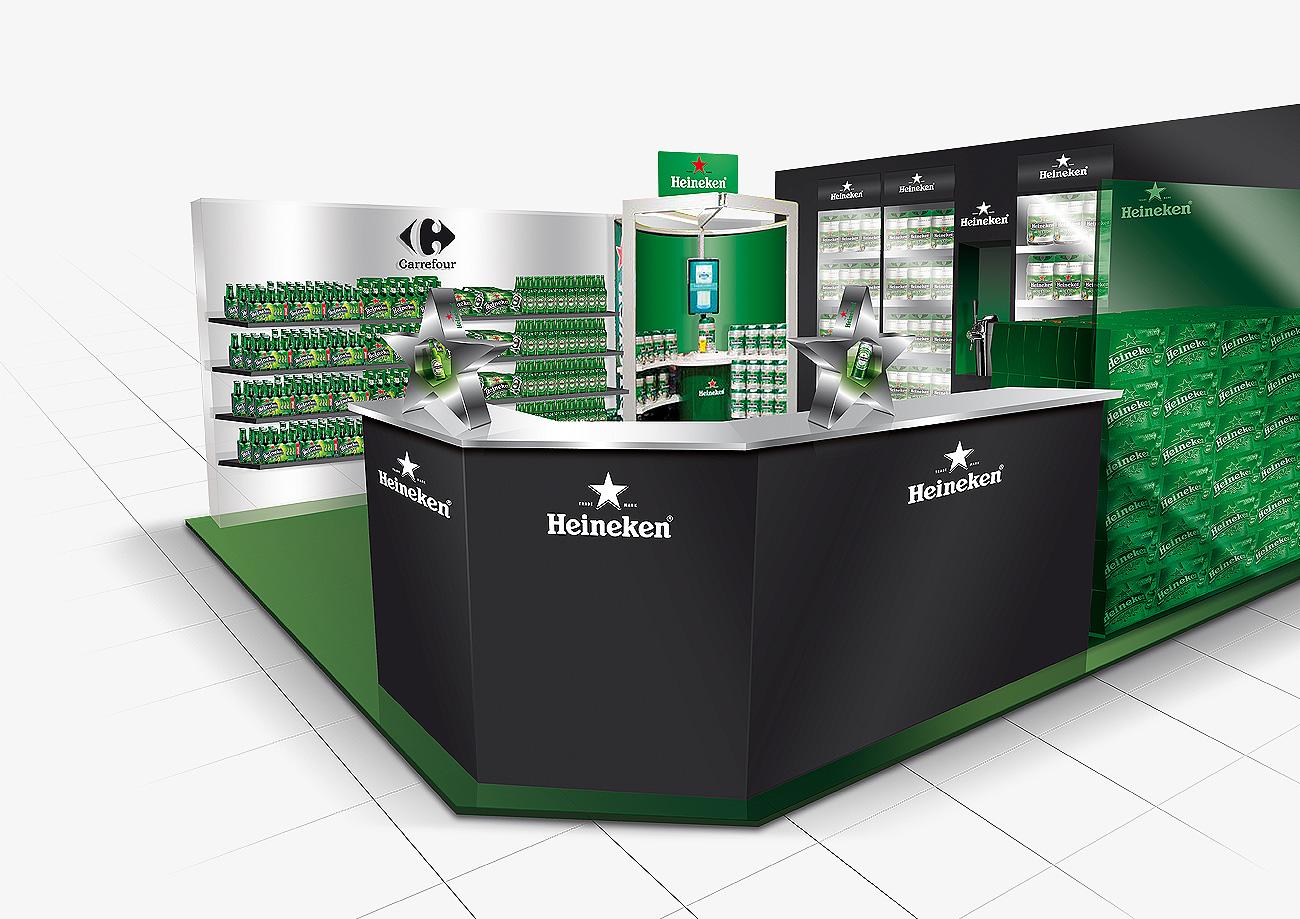 Heineken artwork studio28