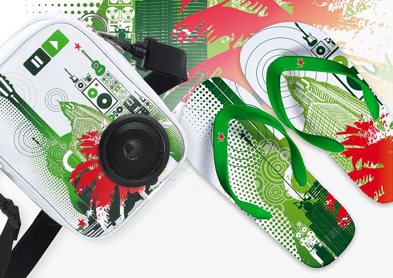 Tong et produits dérivés Heineken